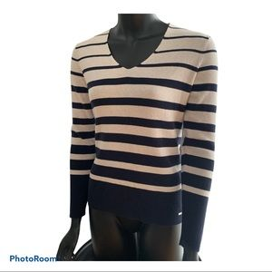 Tommy Hilfiger Sweater Navy and Off-white stripes